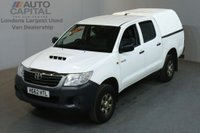 USED 2012 62 TOYOTA HI-LUX 2.5 HL2 4X4 D-4D DCB 4d 142 BHP AIR CON LIGHT UTILITY PICK UP ONE OWNER / AIR CONDITIONING