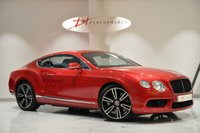 2012 BENTLEY CONTINENTAL 4.0 GT V8 MULLINER 2d AUTO 500 BHP RARE DRAGON RED PEARL PAINT £59950.00