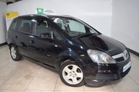 USED 2010 59 VAUXHALL ZAFIRA 1.9 ACTIVE PLUS CDTI 5d 118 BHP