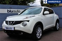 USED 2013 13 NISSAN JUKE 1.6 ACENTA PREMIUM 5d 117 BHP Full Nissan Service History, Reverse Parking Camera, Colour Satellite Navigation, Climate & Cruise Control.....