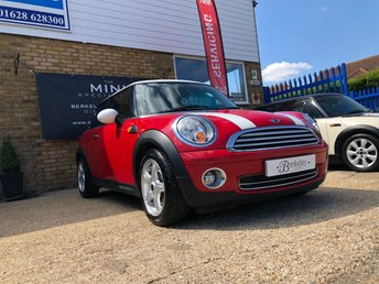 2007 MINI HATCH COOPER 1.6 COOPER 3d 118 BHP £3690.00