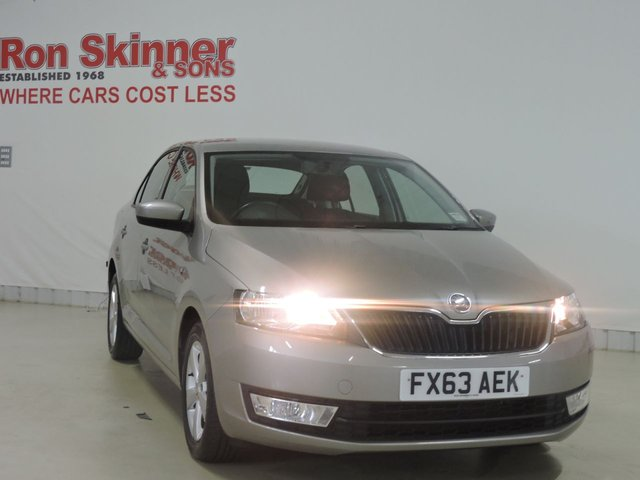 View our 2013 63 SKODA RAPID 1.2 SE TSI 5d 104 BHP