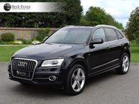 USED 2013 13 AUDI Q5 2.0 TDI QUATTRO S LINE PLUS 5d AUTO 175 BHP PANORAMIC SUNROOF PANORAMIC SUNROF