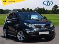 USED 2013 13 KIA SPORTAGE 1.6 2 5d 133 BHP The perfect family car, this one is a 2013 Kia Sportage 2 1.6 petrol 5dr in black with full Kia service history and 2 keys. £10499 with an independent AA inspection report and the remainder of the manufacturers 7 year warranty.