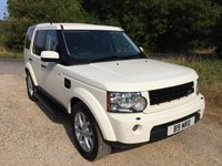 2010 LAND ROVER DISCOVERY 3.0 4 TDV6 XS 5d AUTO 245 BHP £13990.00
