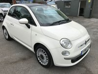 USED 2011 61 FIAT 500 1.2 LOUNGE 3 DOOR 69 BHP IN WHITE WITH A PANORAMIC ROOF AND ONLY 41000 MILES APPROVED CARS ARE PLEASED TO OFFER THIS  FIAT 500 1.2 LOUNGE 3 DOOR 69 BHP IN WHITE WITH A PANORAMIC ROOF AND ONLY 41000 MILES IN IMMACULATE CONDITION WITH A GOOD SPEC INCLUDING AIR CON,STOP START,ALLOYS,ELECTRIC WINDOWS,CENTRAL LOCKING AND MUCH MORE WITH A FULL SERVICE HISTORY SERVICED AT 13K,20K,29K AND 38K ALL STAMPED IN THE SERVICE BOOK AND SUPPORTING SERVICE BILLS,A GREAT LITTLE FIAT 500 AN IDEAL FIRST CAR.