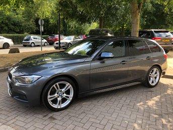 2013 BMW 3 SERIES 2.0 320I M SPORT TOURING 5DR 181 BHPGREAT SPEC & VALUE £12991.00