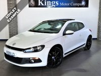 USED 2009 09 VOLKSWAGEN SCIROCCO 1.4 TSI 3dr  Sat Nav, 56,422 Miles Only! , Electric Panoramic Glass Roof