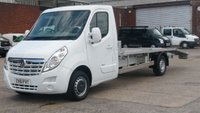 2011 VAUXHALL MOVANO 2.3 F3500 L3H1 CDTI 1d 99 BHP 1 OWNER F/S/H 2 KEYS  CARTRANSPORTER  NEW BACK FITTED   £10250.00