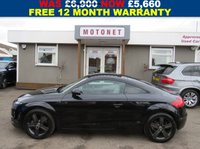 USED 2007 07 AUDI TT 2.0 TFSI 3DR  200 BHP +++JULY SALE NOW ON+++