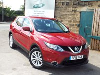 USED 2015 15 NISSAN QASHQAI 1.5 DCI ACENTA SMART VISION 5d 108 BHP One Owner DIESEL