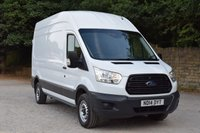 USED 2014 14 FORD TRANSIT 2.2 350 H/R P/V 1d 99 BHP