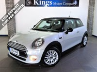 USED 2014 64 MINI HATCH COOPER 1.5 COOPER D Chilli 3dr AUTO  New Shape, £0 Tax, 76 MPG, Leather,  Rare in AUTO, Lovely Spec