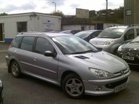 USED 2006 06 PEUGEOT 206 1.4 SW VERVE HDI 5d 68 BHP