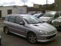 2006 PEUGEOT 206 1.4 SW VERVE HDI 5d 68 BHP £1995.00