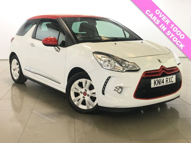 View our 2014 14 CITROEN DS3 1.6 DSTYLE RED 3d 120 BHP