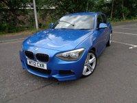 2012 BMW 1 SERIES 2.0 118D M SPORT 5d 141 BHP £7850.00