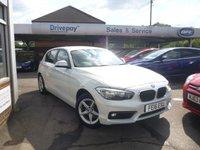2016 BMW 1 SERIES 1.5 116D SE 5d 114 BHP £14499.00