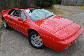 1987 LOTUS ESPRIT 2.2 Turbo 2dr £25000.00