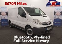 USED 2013 63 VAUXHALL VIVARO 2.0 CDTI  90 BHP Bluetooth Connectivity, Low Mileage, One Owner From New, 6 Speed Gearbox **Drive Away Today** Over The Phone Low Rate Finance Available, Just Call us on 01709 866668
