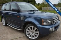USED 2007 07 LAND ROVER RANGE ROVER SPORT 3.6 TD V8 HSE 5dr ***LOW MILEAGE***
