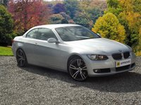 USED 2007 BMW 3 SERIES 3.0 325I SE 2DR 215 BHP CONVERTIBLE FULL BLACK LEATHER ELECTRIC HOOD 19 INCH ALLOYS
