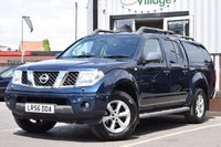 USED 2006 56 NISSAN NAVARA 2.5 DCI OUTLAW 4X4 SHR SWB D/C 1d 169 BHP NO VAT ON THIS VEHICLE..Full Service History