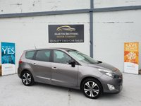 2011 RENAULT SCENIC 1.5 DYNAMIQUE TOMTOM BOSE PACK DCI EDC 5d AUTO 110 BHP £5880.00