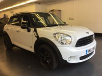 2013 MINI COUNTRYMAN 1.6 COOPER ALL4 5d AUTO 121 BHP £11700.00