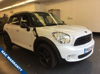 USED 2013 63 MINI COUNTRYMAN 1.6 COOPER ALL4 5d AUTO 121 BHP 1 OWNER, FULL SERVICE HISTORY, GREAT CONDITION