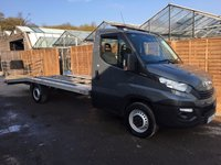 USED 2018 18 IVECO-FORD DAILY 2.3 35S14V 140 BHP RECOVERY TRUCK