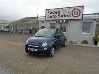 2013 FIAT 500 1.2 POP 69 BHP £4995.00