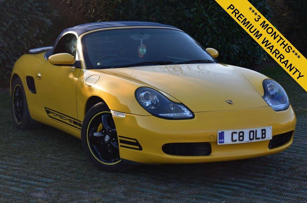 Porsche Boxster 986 2 7 986 Convertible Tiptronic S 2dr