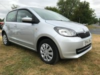 2014 SKODA CITIGO 1.0 SE 5 door £20 a year road tax 45000 miles 2 owners  £4995.00
