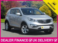 USED 2012 12 KIA SPORTAGE 1.6 GDI ISG 2 5DR PANORAMIC ROOF LEATHER PAN ROOF LEATHER BLUETOOTH AIR CON PARKING SENSORS
