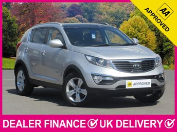 2012 KIA SPORTAGE 1.6 GDI ISG 2 5DR PANORAMIC ROOF LEATHER £7950.00