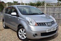 2008 NISSAN NOTE 1.4 ACENTA 5d 88 BHP