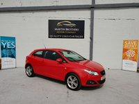 2010 SEAT IBIZA 1.4 SPORT 3d 85 BHP £4395.00