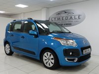 USED 2012 57 CITROEN C3 PICASSO 1.6 PICASSO VTR PLUS HDI 5d 90 BHP FULL SERVICE HISTORY, £30 TAX, MOT JULY 2019