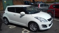 USED 2015 15 SUZUKI SWIFT 1.2 SZ4 5d 94 BHP HIGH SPECIFICATION SUZUKI SWIFT WITH CLIMATE CONTROL, SATELLITE NAVIGATION/MEDIA, ALLOY WHEELS, AND PRIVACY GLASS!..EXCELLENT FUEL ECONOMY, LOW CO2 EMISSIONS AND ONLY £30 ROAD TAX!..FULL SUZUKI SERVICE HISTORY AND ONLY 10187 MILES FROM NEW!