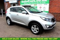 USED 2013 13 KIA SPORTAGE 2.0 CRDI KX-2 5d 134 BHP +PANORAMIC Roof +BLUETOOTH.