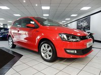 2014 VOLKSWAGEN POLO 1.2 MATCH EDITION A/C £6425.00