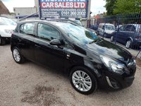 USED 2015 64 VAUXHALL CORSA 1.2 SE 5d 83 BHP HEATED SEATS, AIR CONDITIONING, ALLOY WHEELS,F.S.H