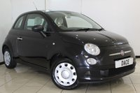 USED 2010 10 FIAT 500 1.2 POP 3DR 69 BHP SERVICE HISTORY + HALF LEATHER SEATS + MULTI FUNCTION WHEEL + AIR CONDITIONING + ELECTRIC WINDOWS + RADIO/CD