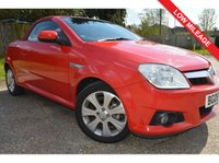 USED 2008 08 VAUXHALL TIGRA 1.4 i 16v Sport Rouge 2dr ***LOW MILEAGE***