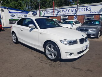 2012 BMW 1 SERIES 2.0 120I EXCLUSIVE EDITION 2d 168 BHP £9500.00