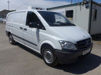 USED 2012 62 MERCEDES-BENZ VITO 110 CDI INSULATED CHILLER, 95 BHP, 1 COMPANY OWNER, LOW MILES