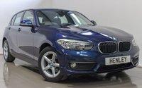 2015 BMW 1 SERIES 1.6 118I SE 5d AUTO 134 BHP £13990.00