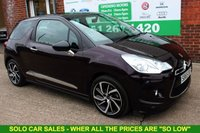 USED 2015 65 DS DS 3 1.6 BLUEHDI DSTYLE NAV S/S 3d 98 BHP +FREE Tax +Serviced +Full MOT.