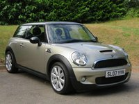 USED 2007 K MINI HATCH COOPER 1.6 COOPER S 3d 172 BHP Panoramic Roof & Full Leather